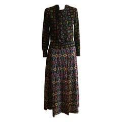 1960s Emanuel Ungaro Parallele Skirt and Jacket
