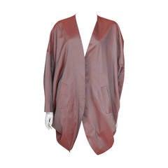 Romeo Gigli Silk Cocoon Coat