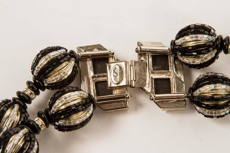 An Art Deco Inspired Necklace by William DeLillo For Sale 1