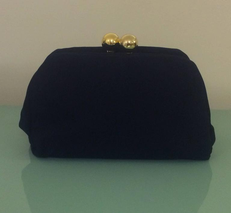 Moschino 1990s Redwall Black and Gold