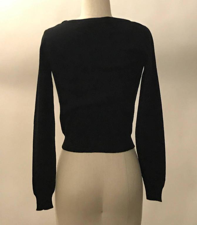Moschino Couture New with Tags Black and White Dry Clean Only Sweater 2