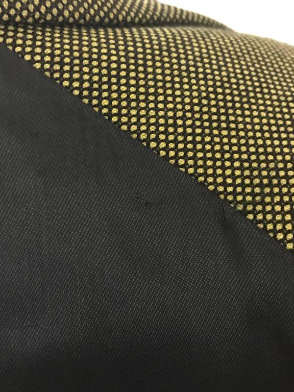 Alexander McQueen 2001 Runway Green and Black Belted Waistcoat Vest 6