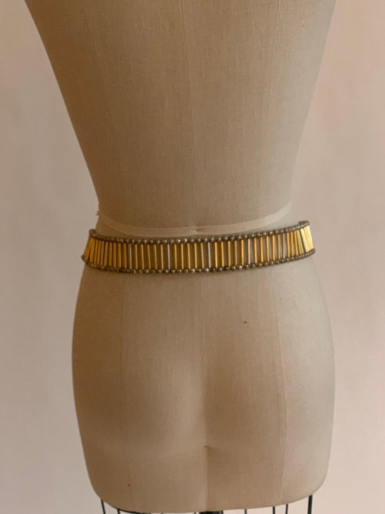 William deLillo 1960s Metal Butterfly Butterfly Belt In Good Condition For Sale In San Francisco, CA