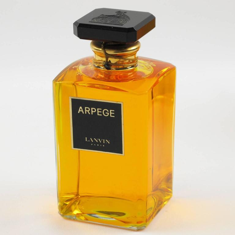 Lanvin Set Of 4 Factice Fragrance Arpege Display Crystal