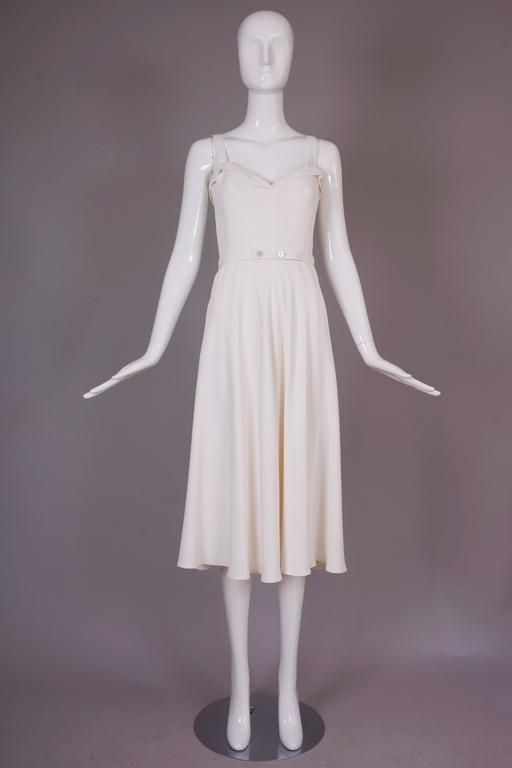 Ralph Lauren Purple Label White Summer Dress 3