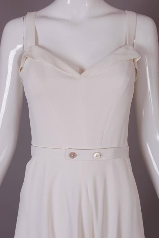 Ralph Lauren Purple Label White Summer Dress 5