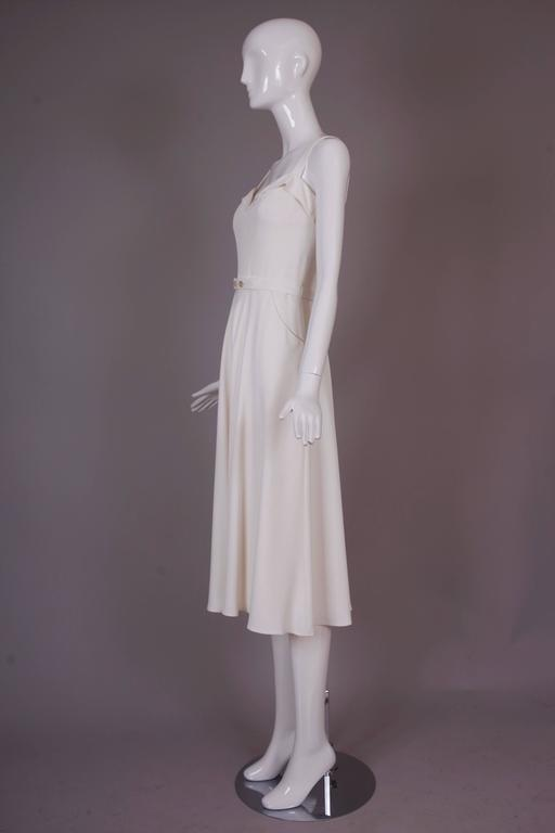 Ralph Lauren Purple Label White Summer Dress 6