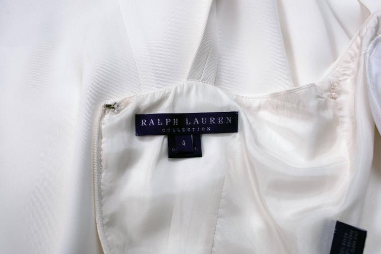Ralph Lauren Purple Label White Summer Dress 7