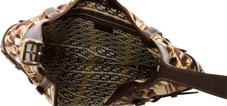574da7f5d Gucci 85th Anniversary Velvet & Leather Hobo Bag w/Horsebit Print & Leather  Trim In