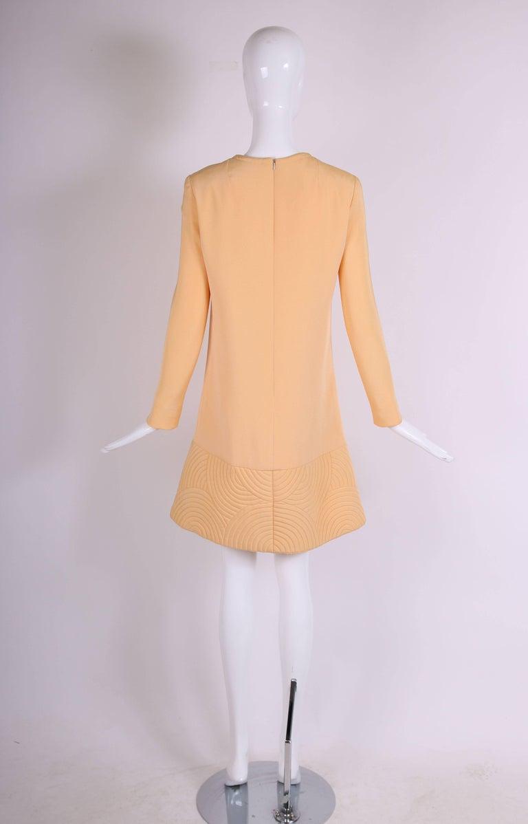 Women's Pierre Cardin Mod Space Age Mini Dress with Geometric Design, 1970s  For Sale