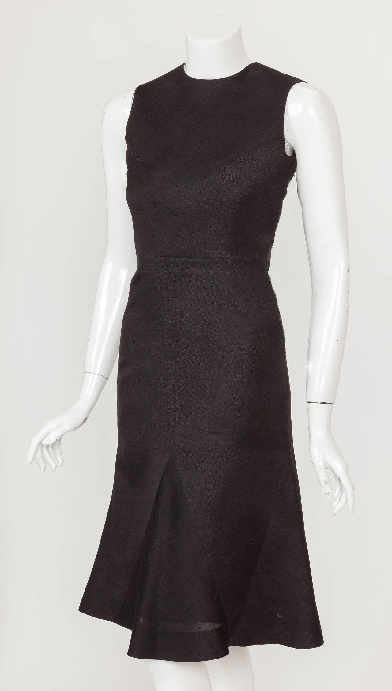 1974 Pierre Balmain Haute Couture Runway Cocktail Dress No. 57179 2