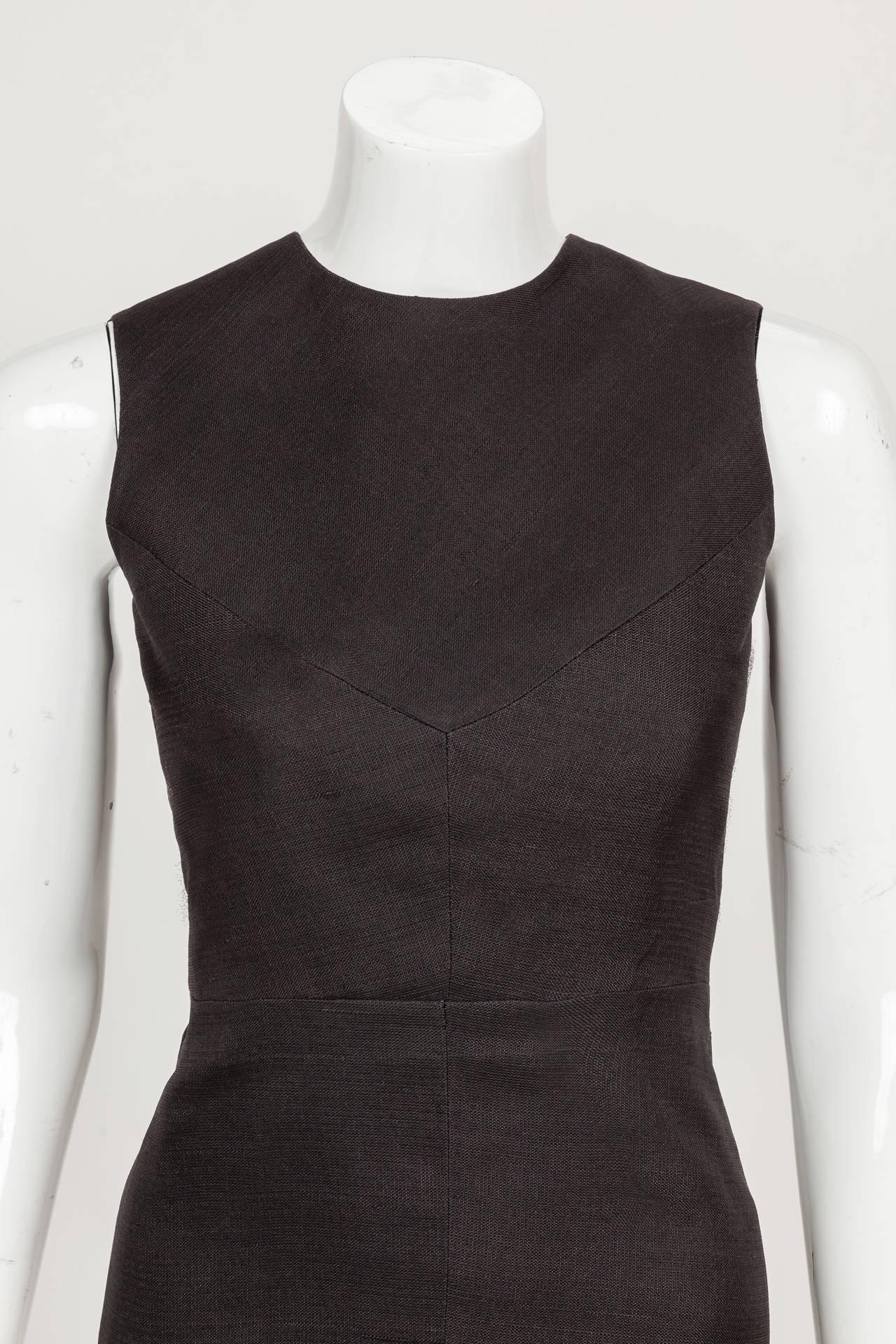 1974 Pierre Balmain Haute Couture Runway Cocktail Dress No. 57179 3