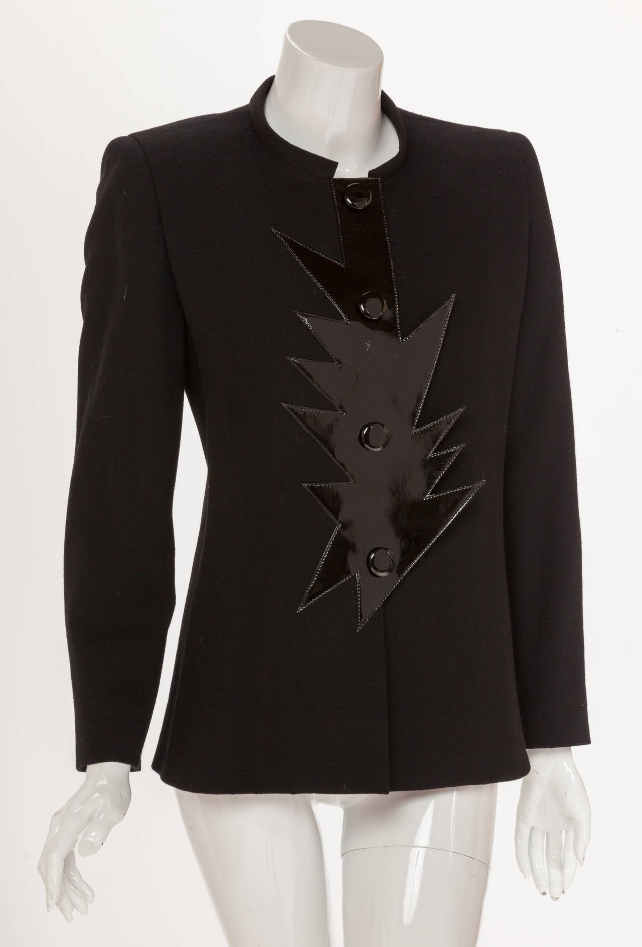 Pierre cardin haute couture wool crepe jacket w futuristic for Haute couture jacket