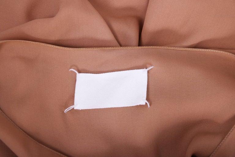 Margiela Silk Single-Shoulder Dress Tunic Top For Sale 2