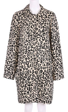 1998 Chloe by Stella McCartney Leopard Print Coat