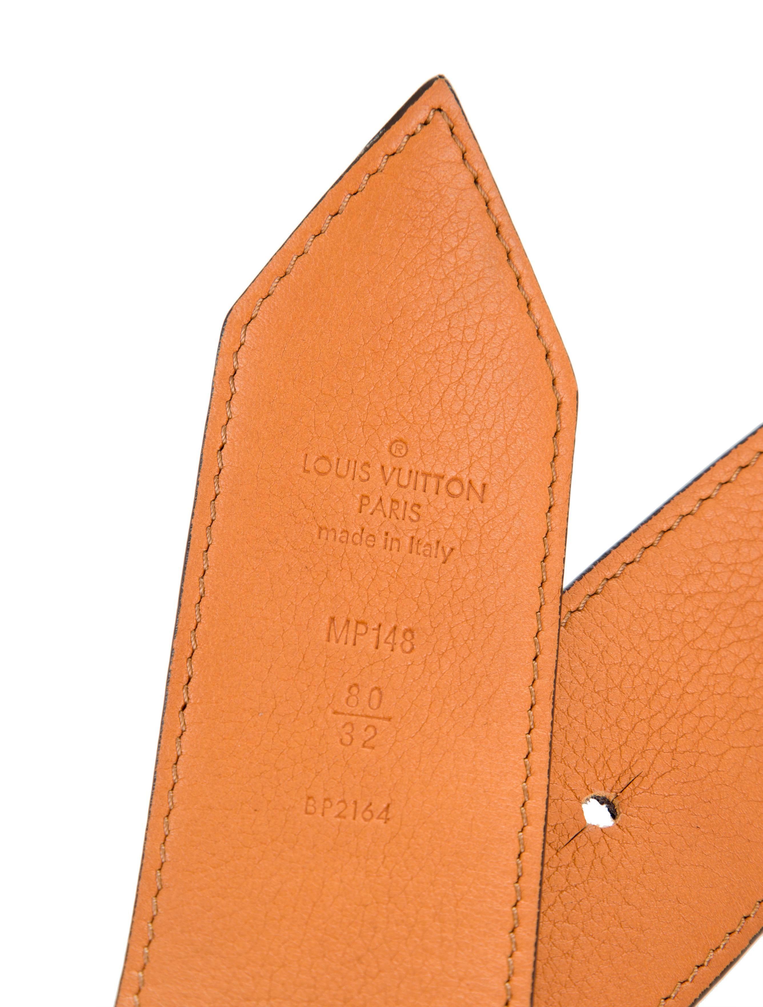 4856a1ef0 Louis Vuitton Rare Monogram Canvas Gold Hardware Sash Waist Belt at 1stdibs
