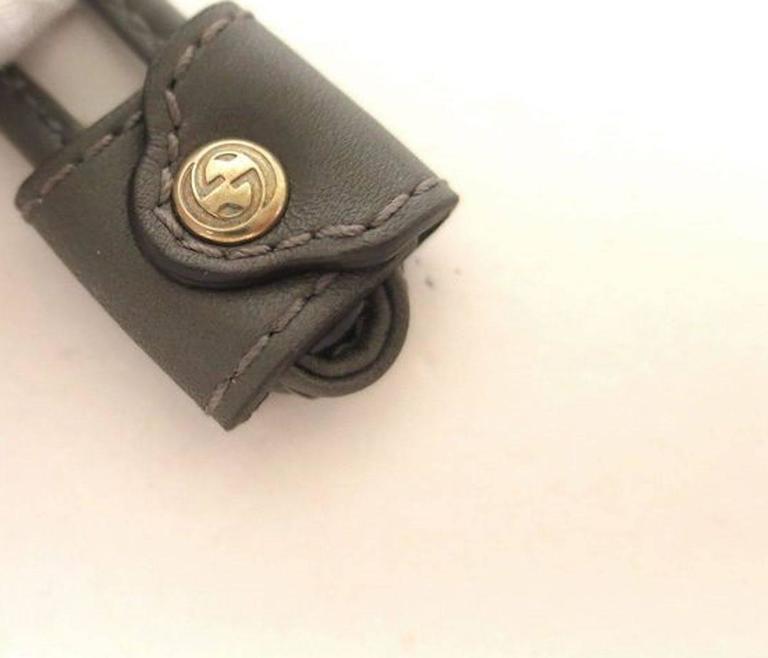 Gray Gucci NEW Monogram Logo Fur Men's Women's Unisex Ear Muffs in Box For Sale