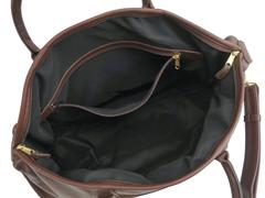 dc1d5239e618 Coach Vintage Brown Leather Men s Carryall Travel Duffle Bag With Lock and  Key at 1stdibs