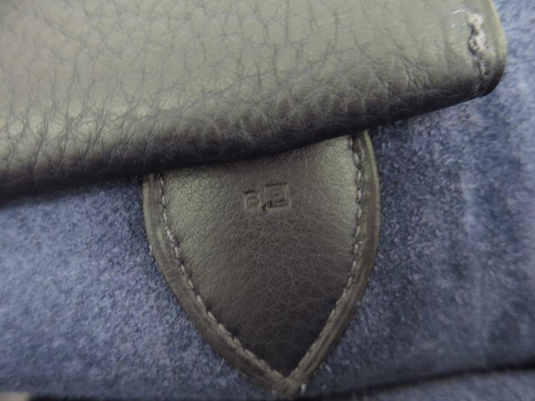 Hermes Leather Oversize Carryall Briefcase Travel Shopper Shoulder Tote Bag For Sale 2