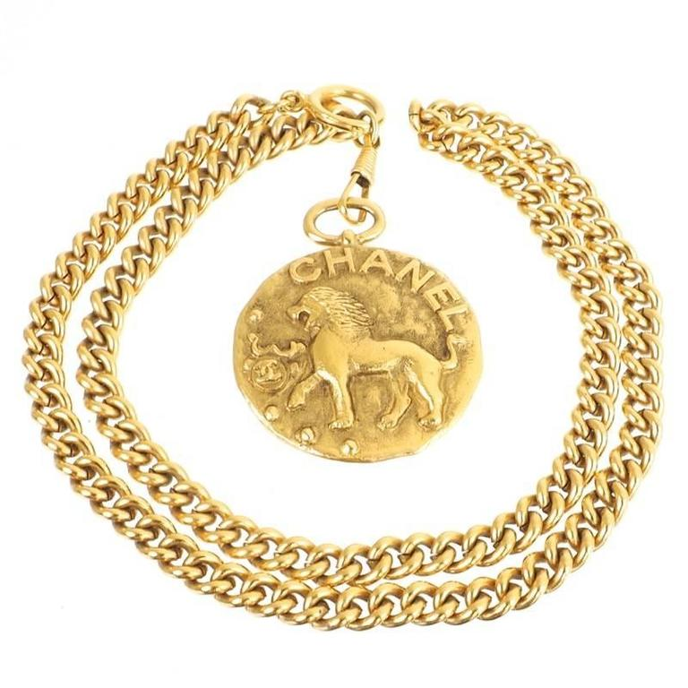 mens necklace gold medallion amazon cz dp iced chain franco out sweet hip hop com round bitter pendant store