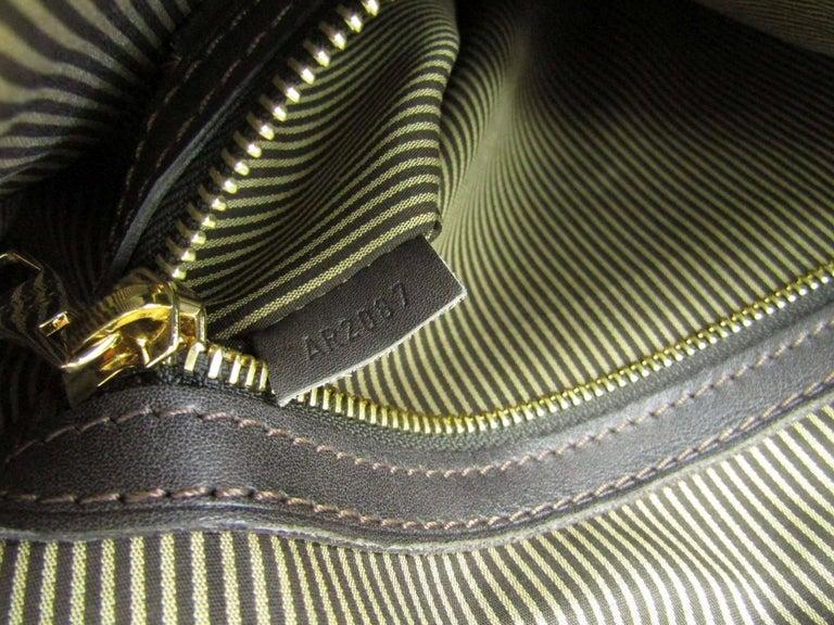 Louis Vuitton Limited Edition Mono Men's Top Handle Travel Tote Shoulder Bag For Sale 5