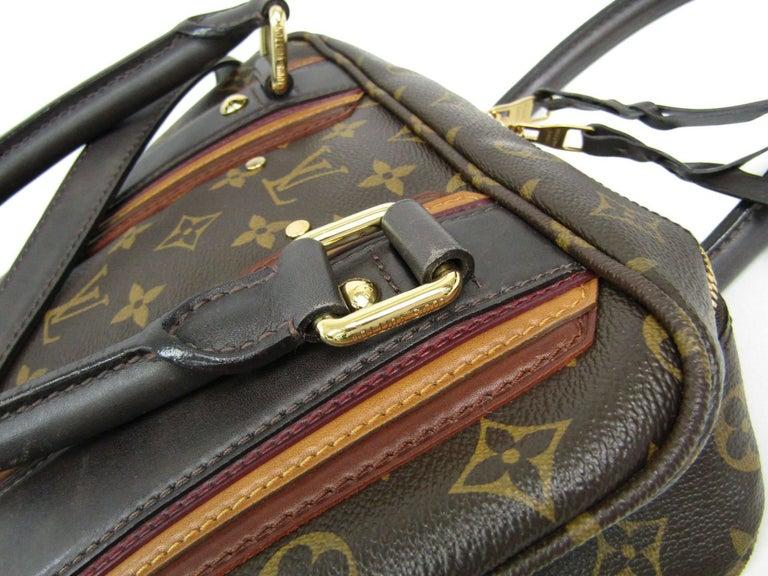 Women's Louis Vuitton Limited Edition Mono Men's Top Handle Travel Tote Shoulder Bag For Sale