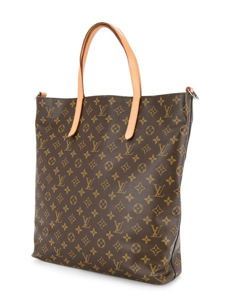 Louis Vuitton Monogram Men's Carryall Travel Tote Shoulder Bag In Excellent Condition For Sale In Chicago, IL