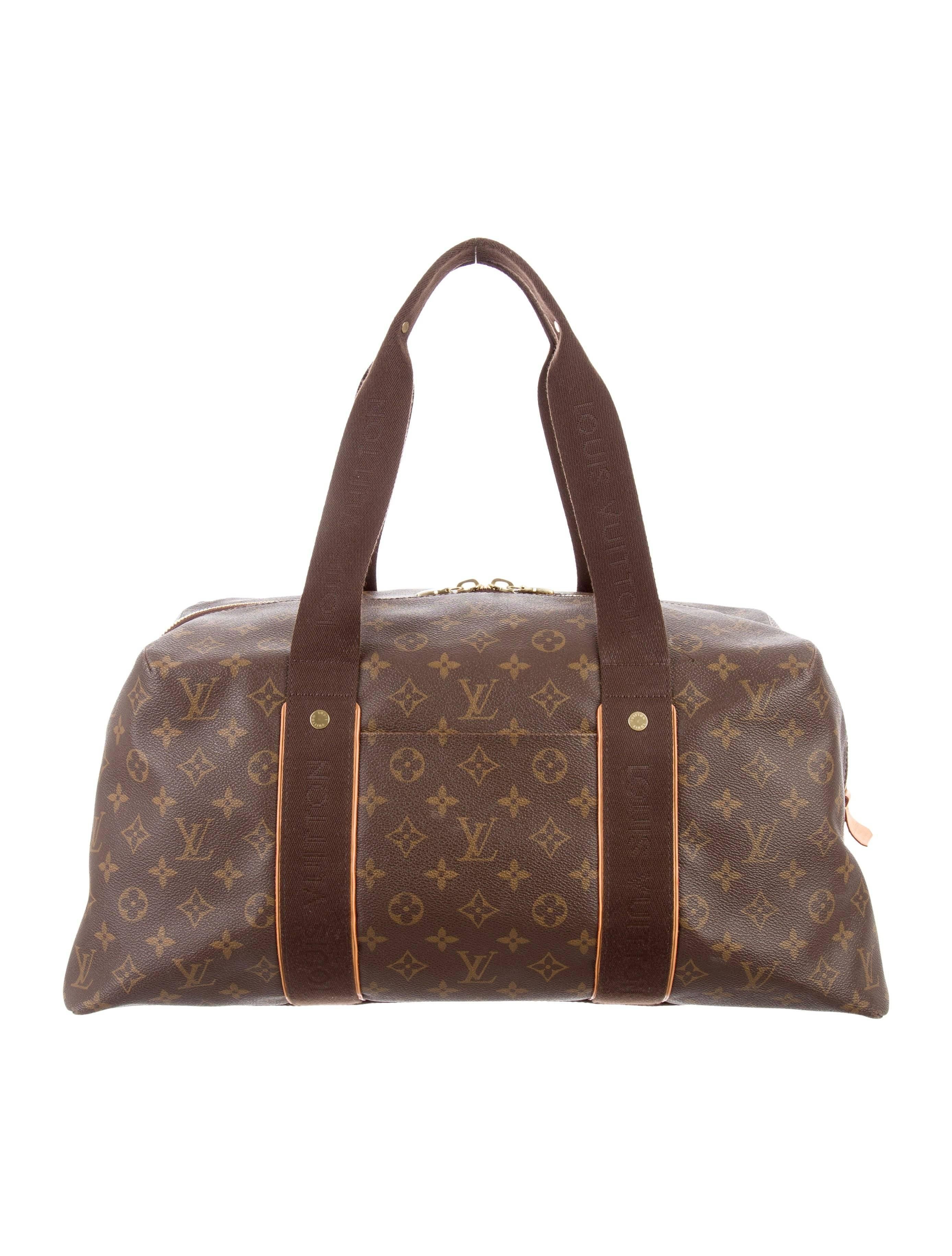 Louis Vuitton Limited Edition Top Handle Mens Travel Weekender Duffle Tote Bag fQPDOA
