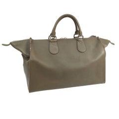 Louis Vuitton Leather Men's Carryall Top Handle Travel Weekender Tote Bag
