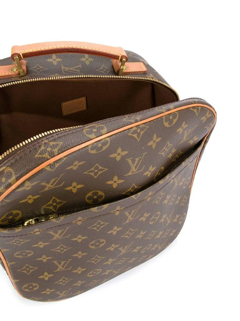 Louis Vuitton Monogram Men's Women's Carryall Travel One Shoulder Backpack Bag For Sale 1