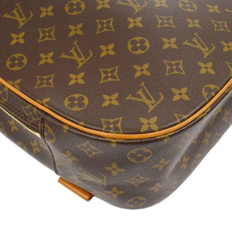 Louis Vuitton Monogram Men's Women's Carryall Travel One Shoulder Backpack Bag For Sale 3
