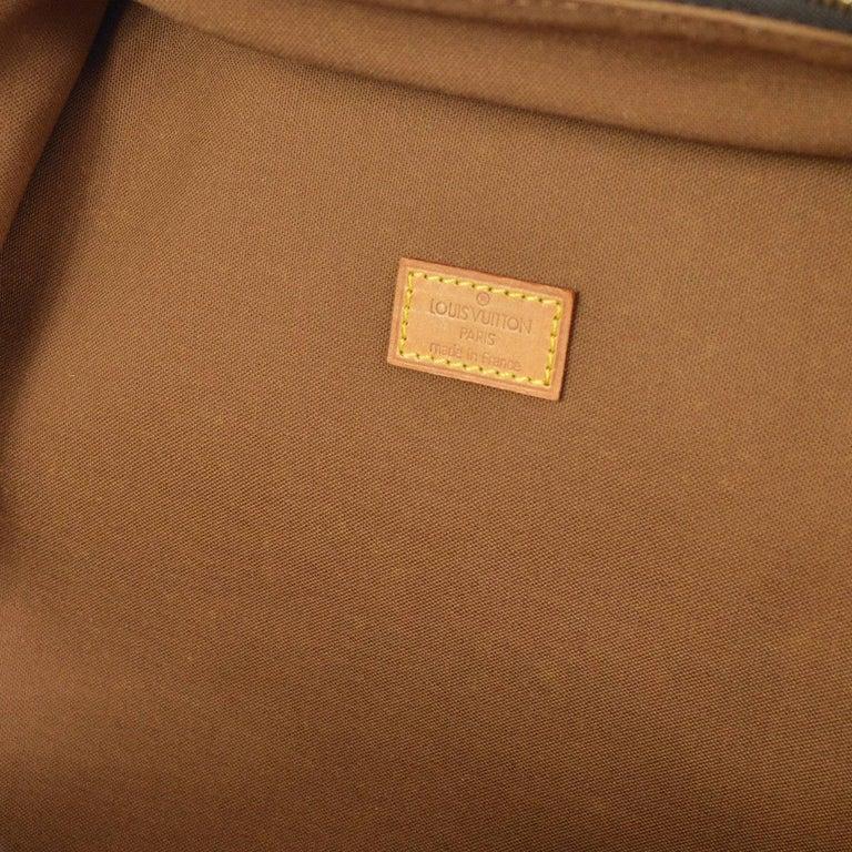 Louis Vuitton Monogram Men's Women's Carryall Travel One Shoulder Backpack Bag For Sale 5