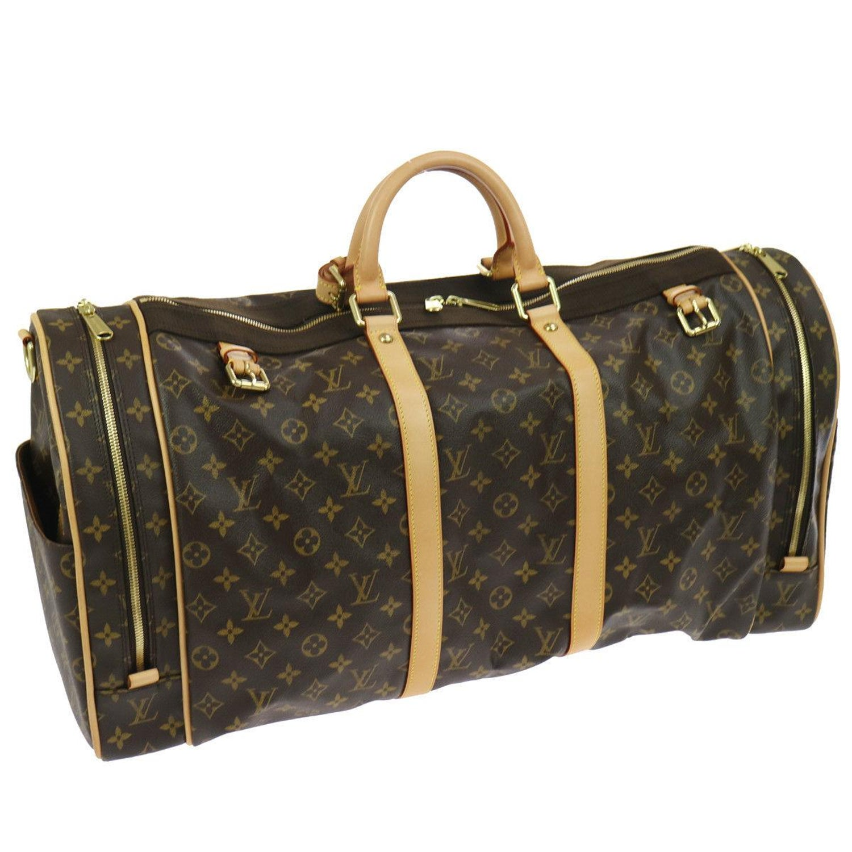 608724438428 Louis Vuitton Monogram Large Men s Women s Travel Carryall Duffle Top  Handle Bag For Sale at 1stdibs