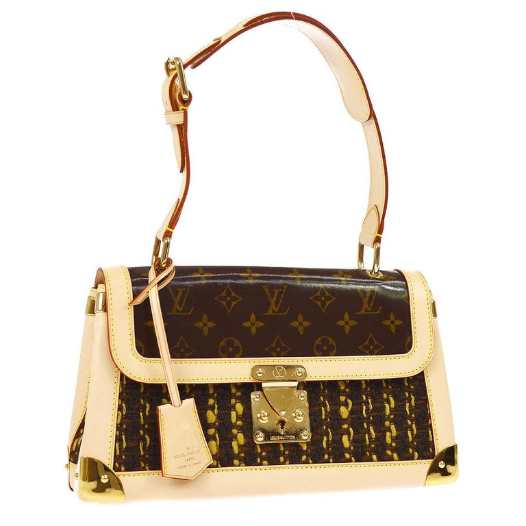903e67d52346 Louis Vuitton Limited Edition Top Handle Satchel Kelly Style Flap Bag For  Sale at 1stdibs