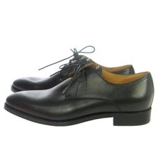 ad461145d0d0 Hermes NEW Leather Men s Dress Suit Brogues Shoes in Box. Hermes Black  Leather Metal Heel ...