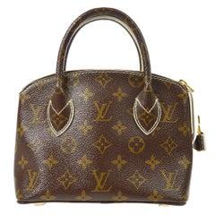 Louis Vuitton Monogram Canvas Evening Small Top Handle Satchel Bag