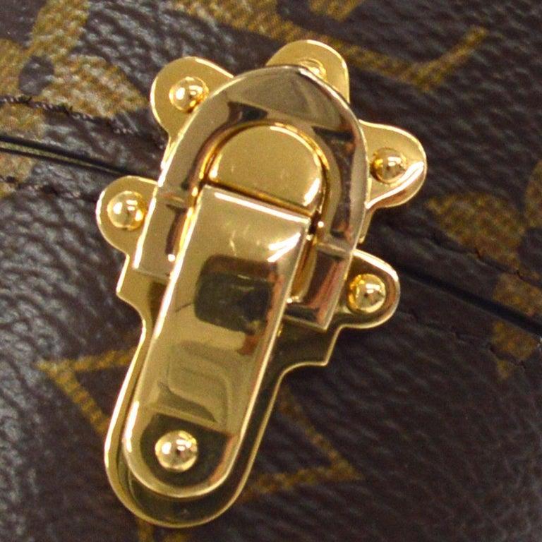 aa19cee88f6a LOUIS VUITTON Monogram Gold Mini Small Men s Women s Travel Storage Case in  Box Monogram Gold tone