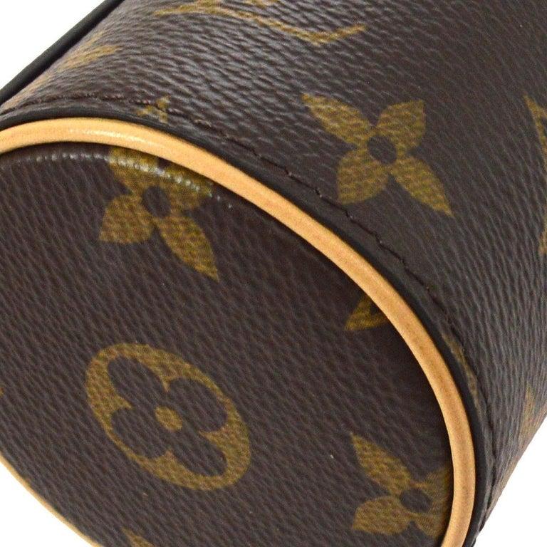 f1f41e4d5e0c LOUIS VUITTON Monogram Gold Mini Small Men s Women s Travel Storage Case in  Box For Sale 1