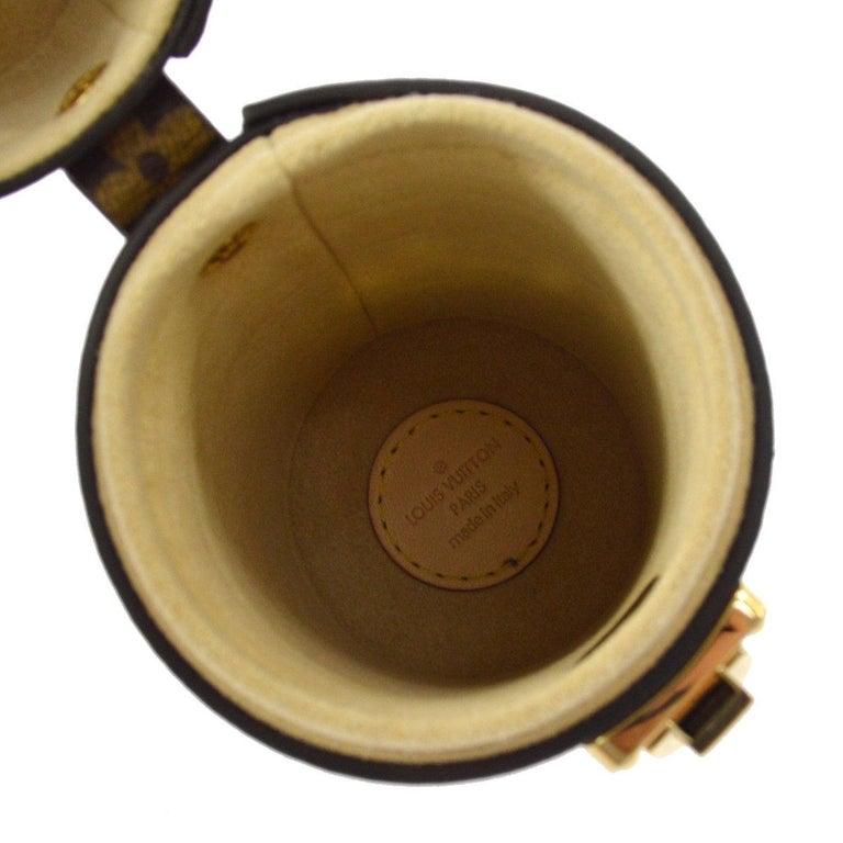 f950e6afc270 LOUIS VUITTON Monogram Gold Mini Small Men s Women s Travel Storage Case in  Box For Sale 2