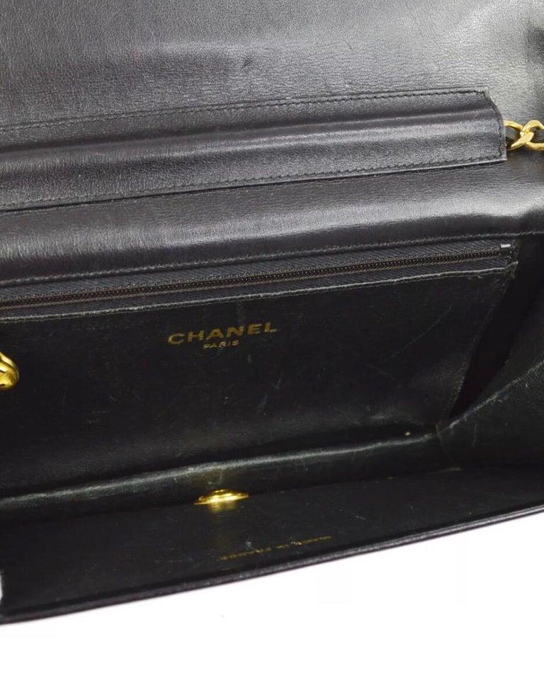 Chanel Vintage Crocodile WOC 2 in 1 Clutch Evening Shoulder Flap Bag For Sale 1