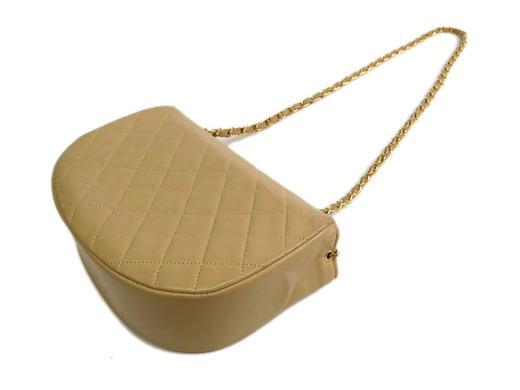 afb89bf86dd2 Chanel Nude Beige Calfskin Leather Flap Crossbody Shoulder Bag at 1stdibs
