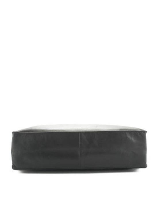 Chanel Black Lambskin Leather Gold Chain Shoulder Bag Shopper Tote 4