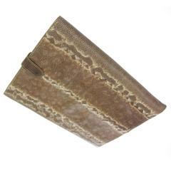 Bottega Veneta NEW Snakeskin Men's Women's iPad Tech Accessory Bag in Box