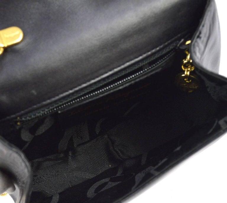 Salvatore Ferragamo Black Leather Gold 2in1 Fanny Pack Belt Bag For Sale 4