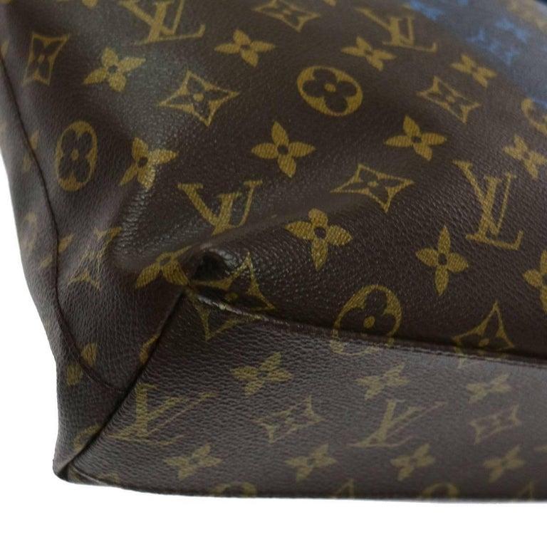 Women's Louis Vuitton Monogram Men's Carryall Travel Tote Shoulder Bag For Sale