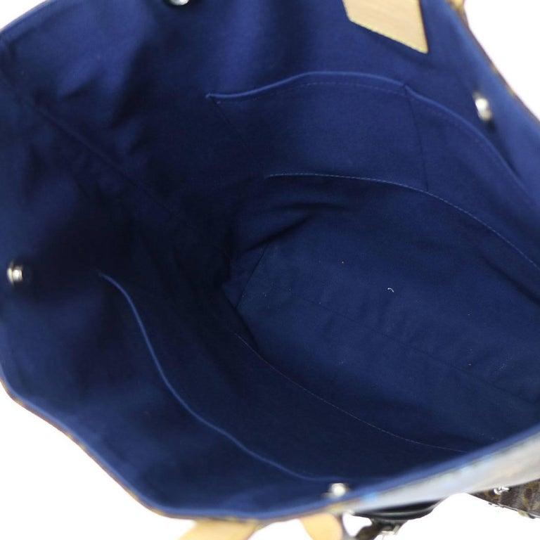 Louis Vuitton Monogram Men's Carryall Travel Tote Shoulder Bag For Sale 1