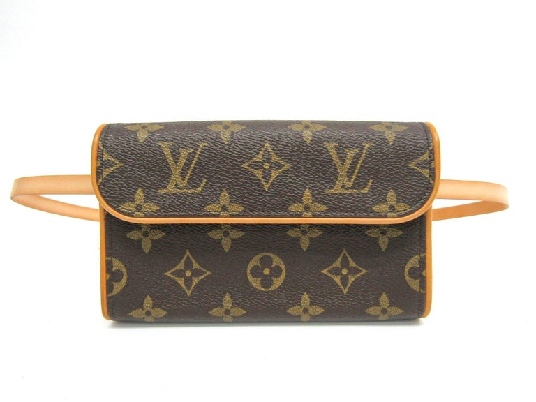 Black Louis Vuitton Monogram Men's Women's Fanny Pack Waist Belt Bag