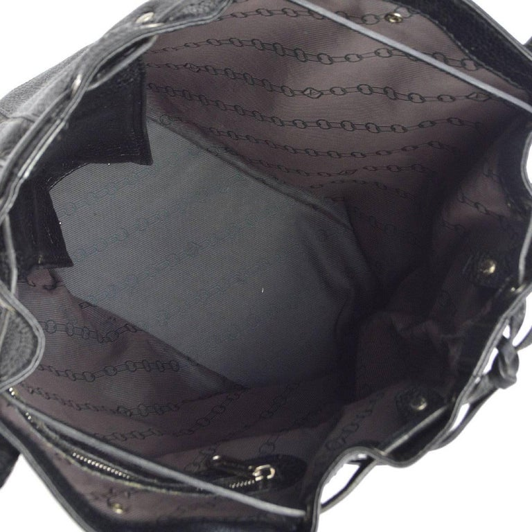Louis Vuitton Black Leather Men's and Women's Carryall Travel Tote Bag 3