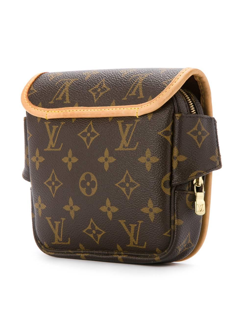Louis Vuitton Monogram Mens Womens Fanny Pack Shoulder Waist Belt Bag sM3F1Dk691