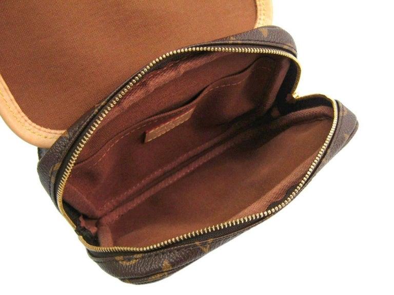 02ccc1f5b3860 Louis Vuitton Monogram Men s Women s Fanny Pack Shoulder Waist Belt Bag For  Sale 1